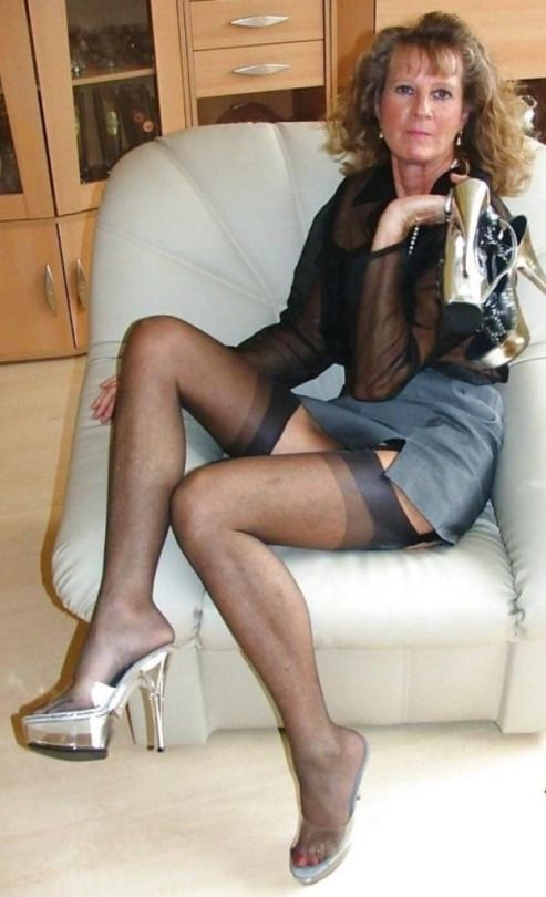 Something is. naughty mature amateurs very