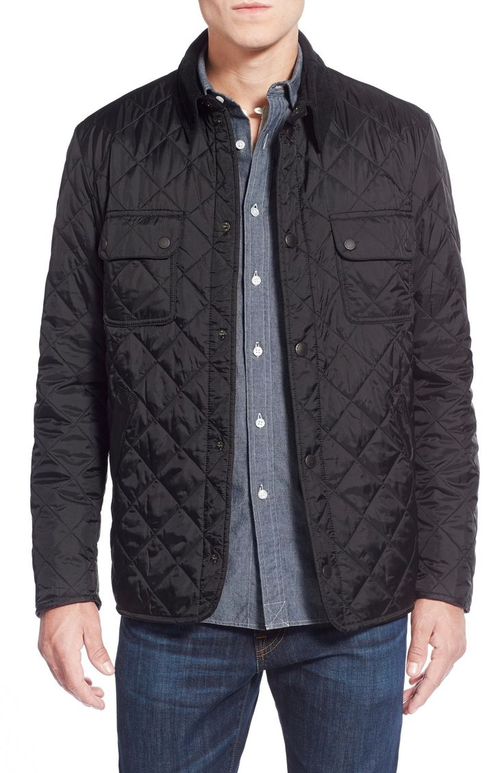 Barbour 'Tinford' Regular Fit Quilted Jacket available at #Nordstrom