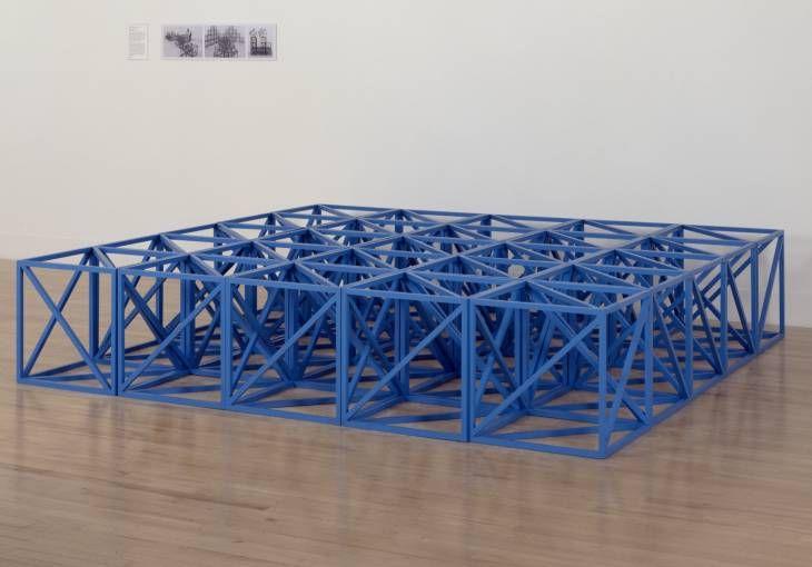 Rasheed Araeen 'Zero to Infinity', 1968–2007 © Rasheed Araeen