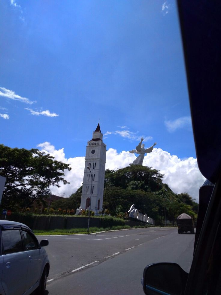 'Jesus Bless' Monument Manado, North Sulawesi, Indonesia