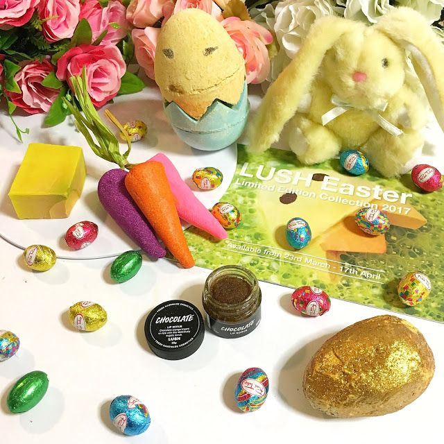 Max The Unicorn: LUSH Limited Edition Easter Collection!