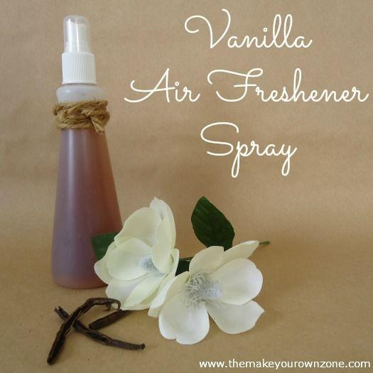 How to make a Vanilla Air Freshener Spray