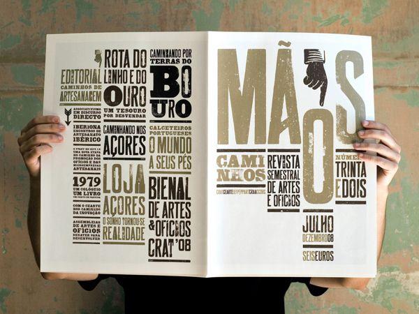 Mãos 32 – Magazine design on Behance