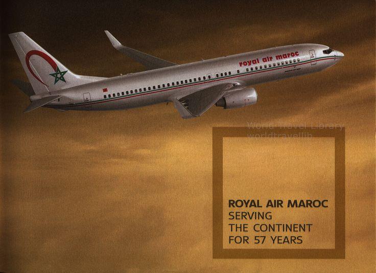 https://flic.kr/p/Tg2iTA   Royal Air Maroc, Where Africa Begins; 2014_2, Boeing B737-800