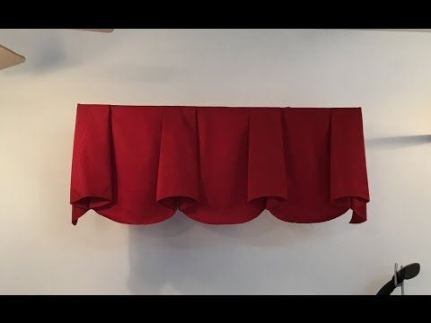 2 part series on how to make a scalloped valance with bells. Video includes cutting, sewing and mounting the valance. For the actual sewing with lining pleas...