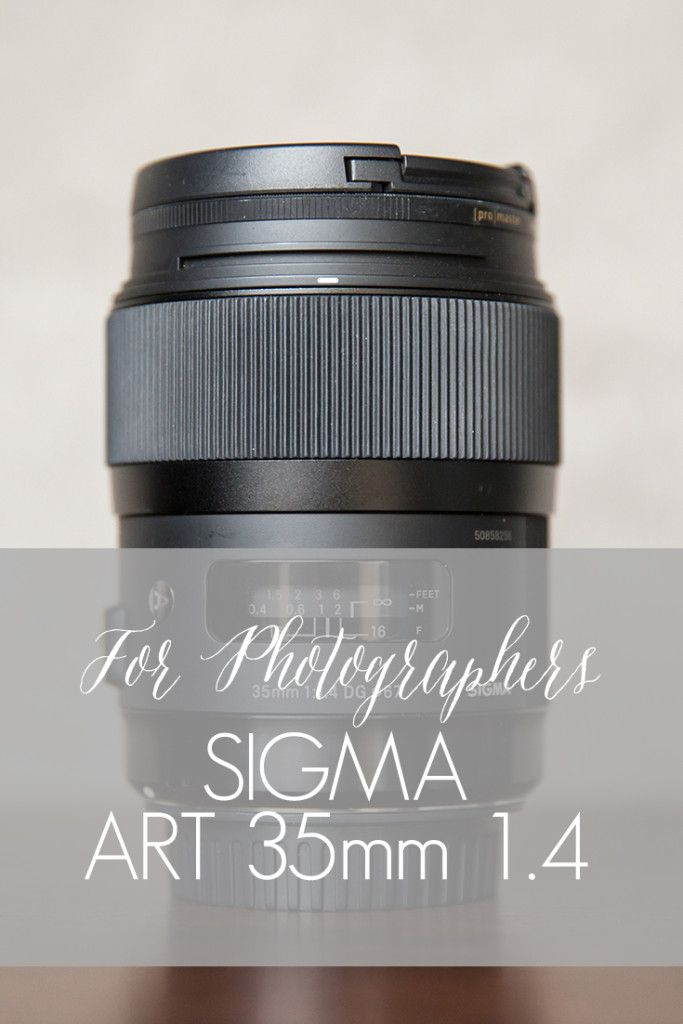 Sigma Art 35mm 1.4 | For Photographers