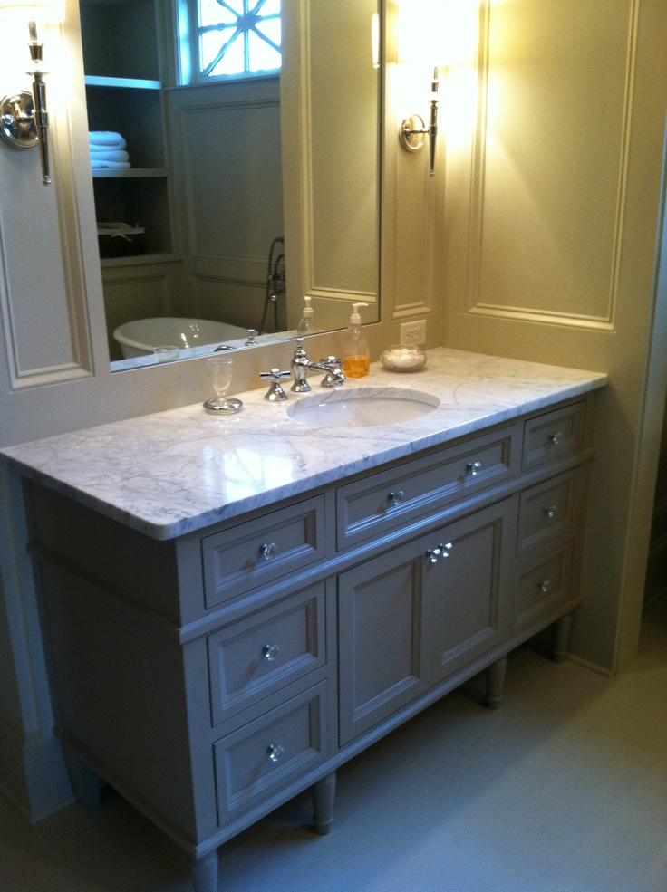 Custom Cabinet Furniture Bath Vanity Inset Doors And