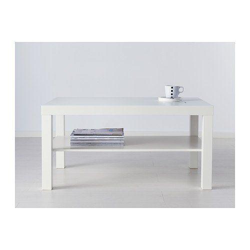 Hemnes Coffee Table White Stain 90x90 Cm: IKEA LACK - Coffee Table, White - 90x55 Cm