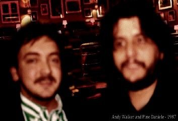 Andy Walker and Pino Daniele , London , Ronnie Scott's Theather , 1987 -