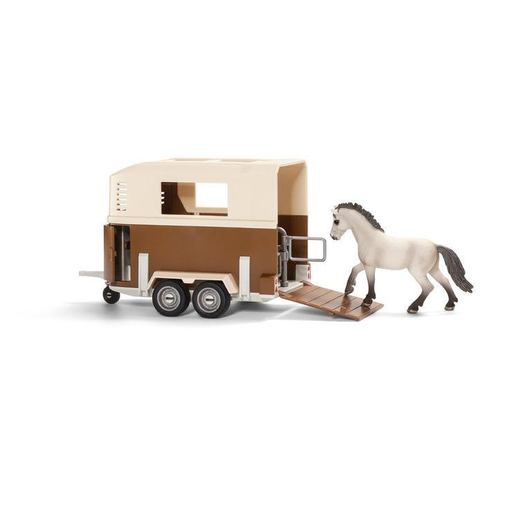 Schleich - 42091 - Figurine - Remorque pour Cheval: Amazon.fr: Jeux et Jouets