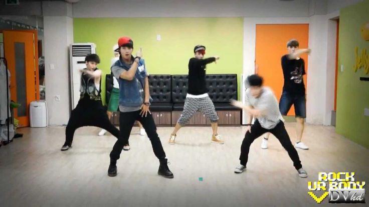 VIXX - Rock Ur Body (dance practice) DVhd