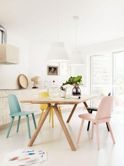 belle table esprit scandinave