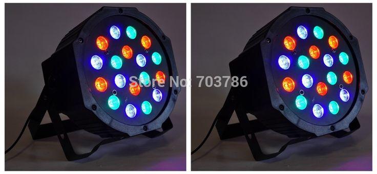 10 шт./лот новый 7 * 15 Вт 5IN1 RGBWA из светодиодов плоским пар профиля Dmx плоский пар может, Американский DJ сценическое освещение цифровой из светодиодов 5 / 9 каналов
