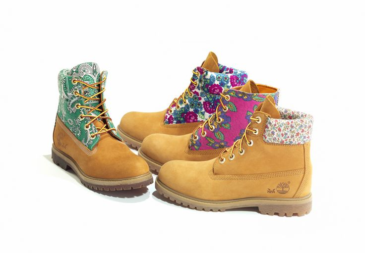 Timberland Recycled Textile 6-inch boots   TRAID (Textile Recycling for Aid and International development)   apparel-web.com   ティンバーランド 古着使った6インチブーツ発売 元コレットディレクターとのコラボ   アパレルウェブ取材ブログ  展示会、ファッションショーのレポート