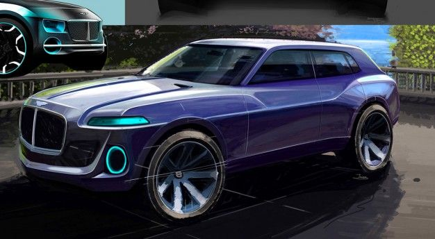 Bentley SUV design proposal