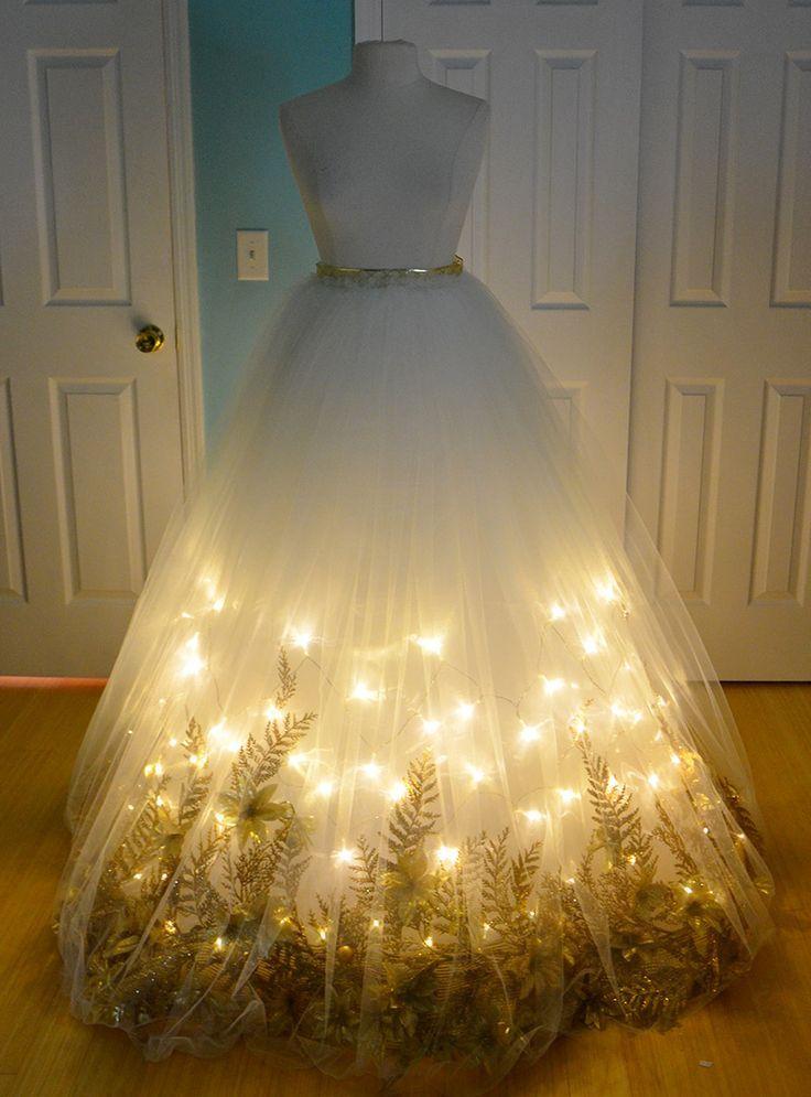 Une robe très originale pour Noël !