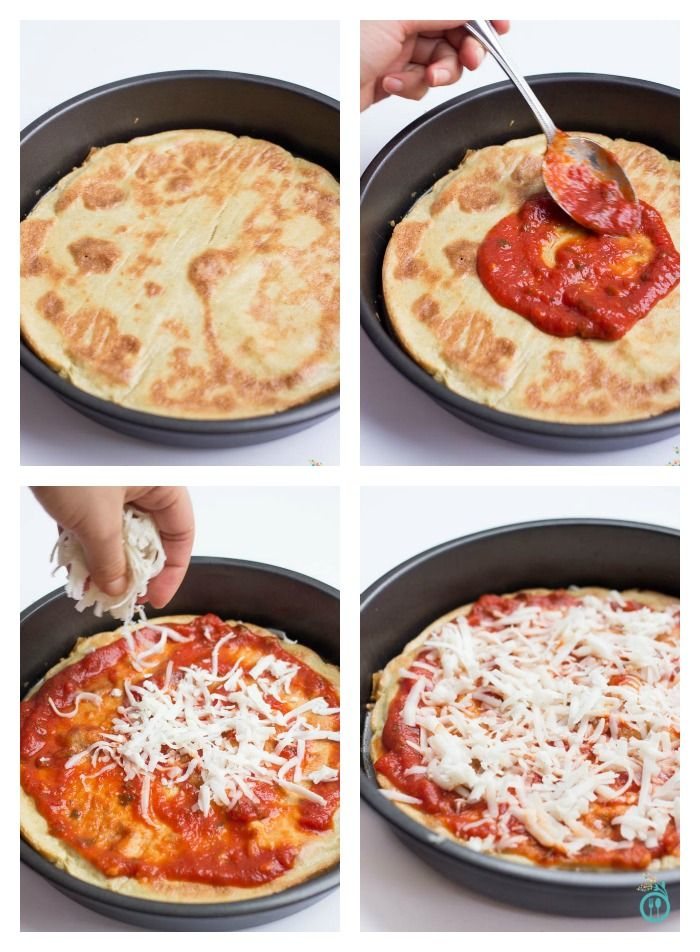 Learn how to make perfect gluten-free pizza in your BLENDER >> click through to find out now!