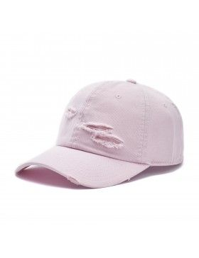 Cayler & Sons Ripped - Curved dad cap - pink