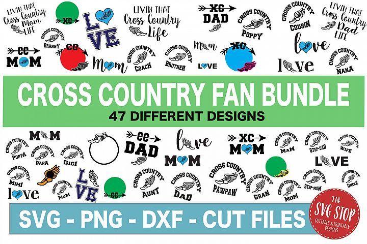 Cross Country Svg Bundle Svg Png Dxf 231781 Svgs Design Bundles Cross Country Country Svg