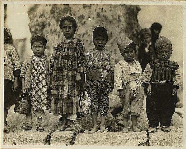 Birinci Dünya Savaşı sırasında Osmanlı çocukları...