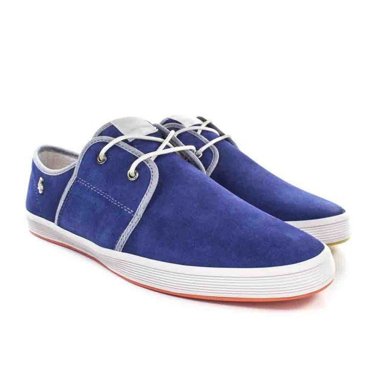 Buy Now: http://www.baselondon.com/spam-2-suede-blue  Men's Fashion. Fish 'n' Chips Shoes. Spring Summer 16. Men's Shoes. Menswear. Seasonal Footwear. Style: Spam 2 Suede Blue
