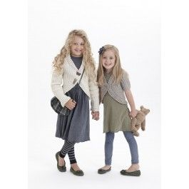 4 Quick and Easy Styles for Girls in Patons Wool Blend Aran (3742) £2.99