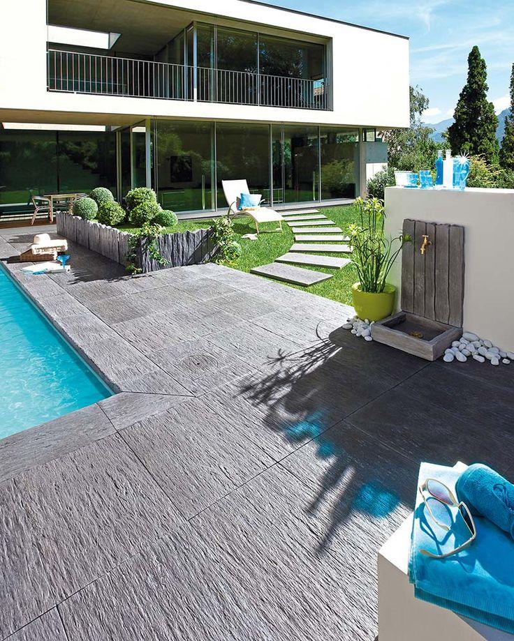 Les 25 meilleures id es de la cat gorie dalle pour - Fontaine murale exterieure pour jardin terrasse et piscine ...
