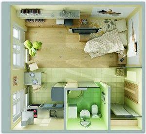 Квартира-студия - особенности и отличия
