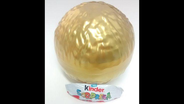 Kinder Sorpresa Maxi |Grand Ferrero Rocher | 3 Huevos Kinder Sorpresa|So...