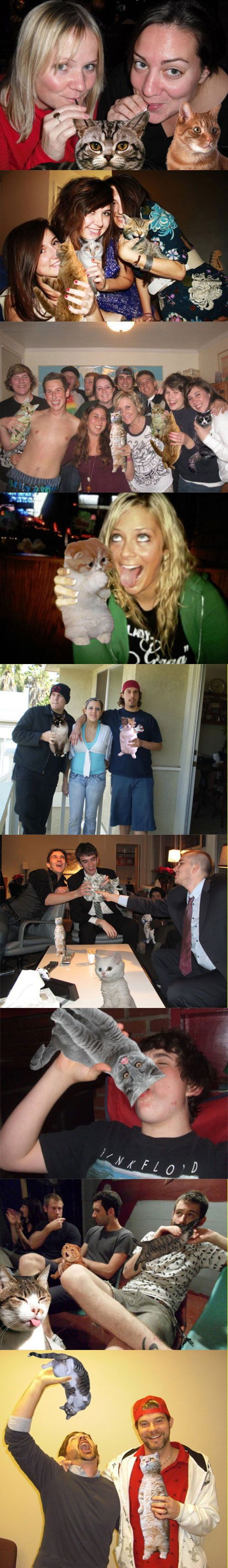 How to properly hide alcohol in your Facebook pictures.