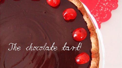 Chocolate tart with agora extra virgin olive oil - elenianna.com | Luxury - Premium Mediterranean Collections