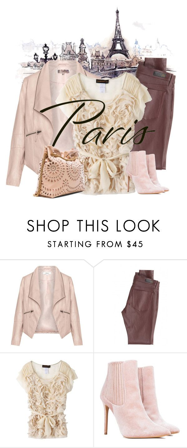 """Paris"" by artistkarstenmouras ❤ liked on Polyvore featuring Zizzi, AG Adriano Goldschmied, Somarta and STELLA McCARTNEY"