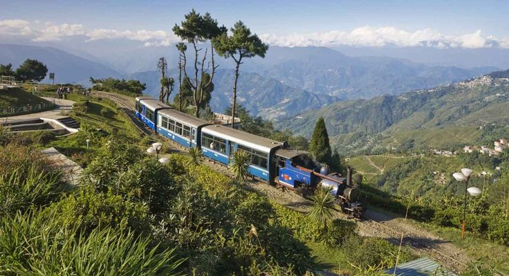 Built between 1879 and 1881, the railway is about 78 kilometres (48 mi) long. #Toytrain joy rides operate from #Darjeeling Railway Station. It's a 2-hour round trip from Darjeeling up to #Ghum and back covering a total distance of 14kms. #trip #experience #holiday #fun #adventure