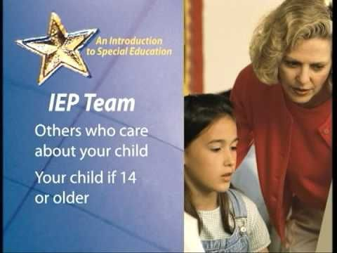 This clip gives an introduction to special education and what goes into special education