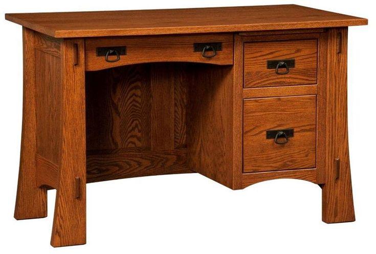 amish modesto mission student desk amish computer desks