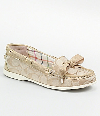 sperrys + coach = THIS.