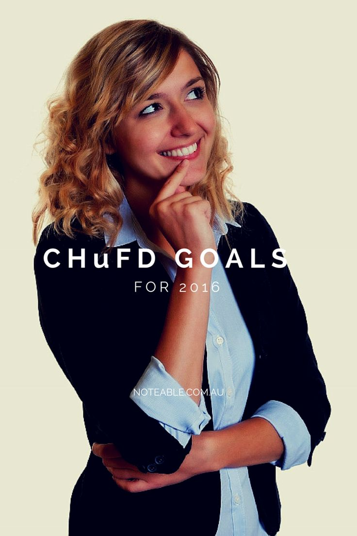 Set ChuFD goals this year. Challenging, Huge and Fun. The stuff Dreams are made of!