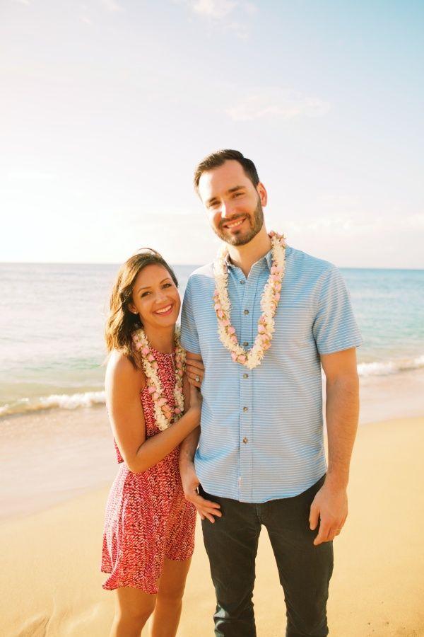 The Bachelorette's Desiree + Chris Siegfried's sweet Maui anniversary session: http://www.stylemepretty.com/2016/03/21/the-bachelorettes-desiree-and-chris-share-their-adorbs-anniversary-sesssion-in-maui/ | Photography : Anna Kim Photography - http://annakimphotography.com/