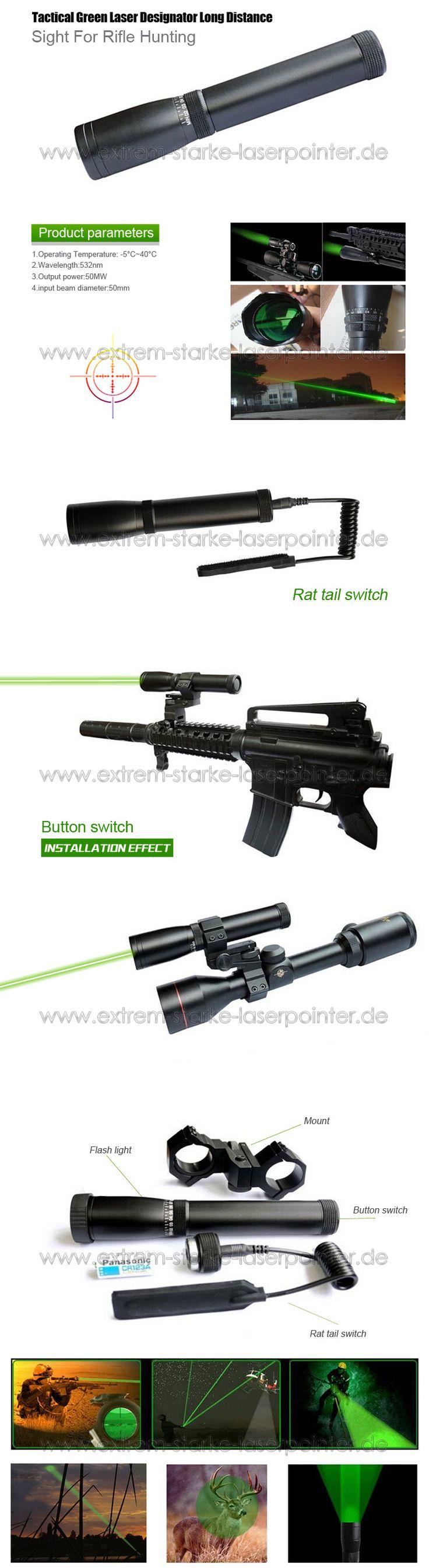 Laser Designator Grün 50mW