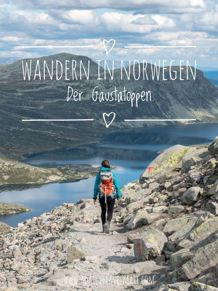Wandern Norwegen: Wanderung auf den Gaustatoppen