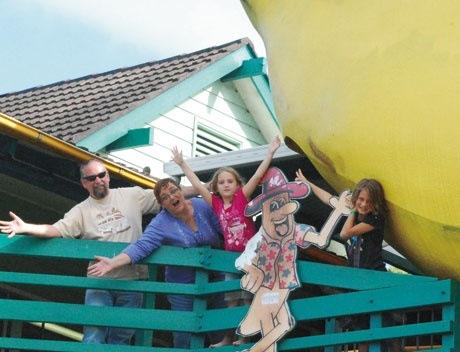The Big Banana, Coffs Harbour  Kids Welcome