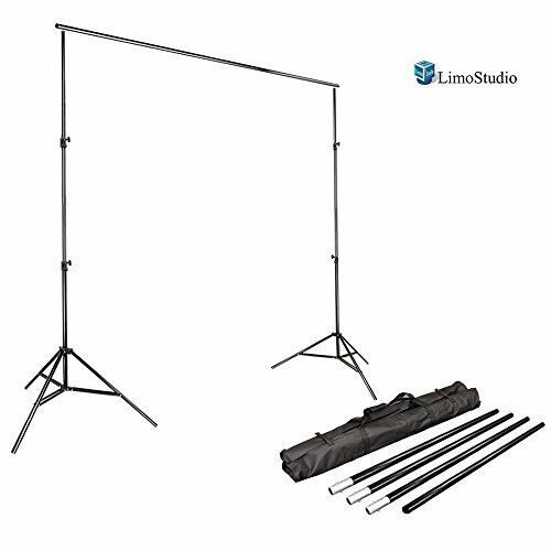 Limostudio Photo Video Studio 10ft Adjustable Muslin Background Backdrop Support Party Planning Business Backdrops Backgrounds Studio Photography Lighting