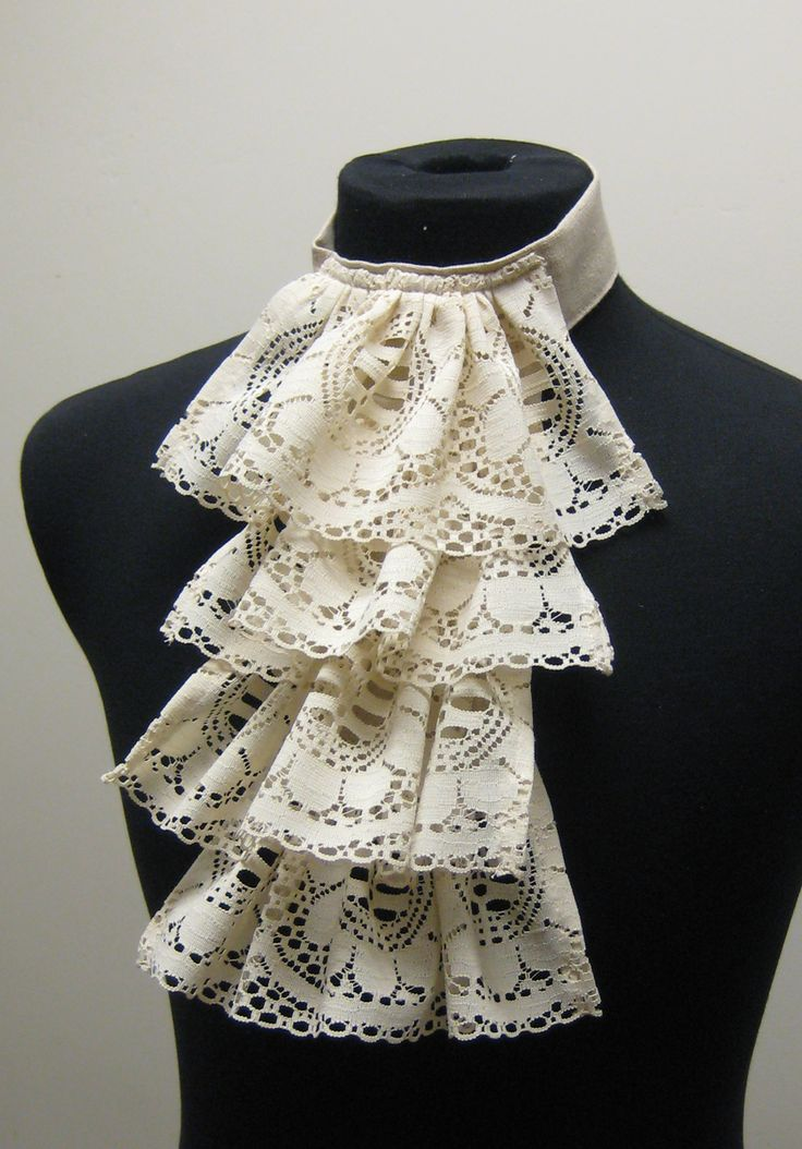 Accessory, Dickey, Jabot, Lacey - Click Image to Close
