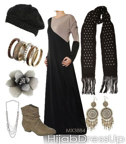 Hijab Dress Up # Style # Winter love Earth