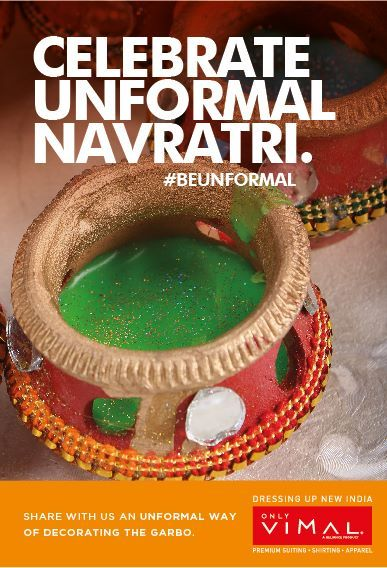This Navratri celebrate #Unformal Dandiya. Send us your Unformal Way of decorating the garbo and you could #win exciting prizes. #Contest