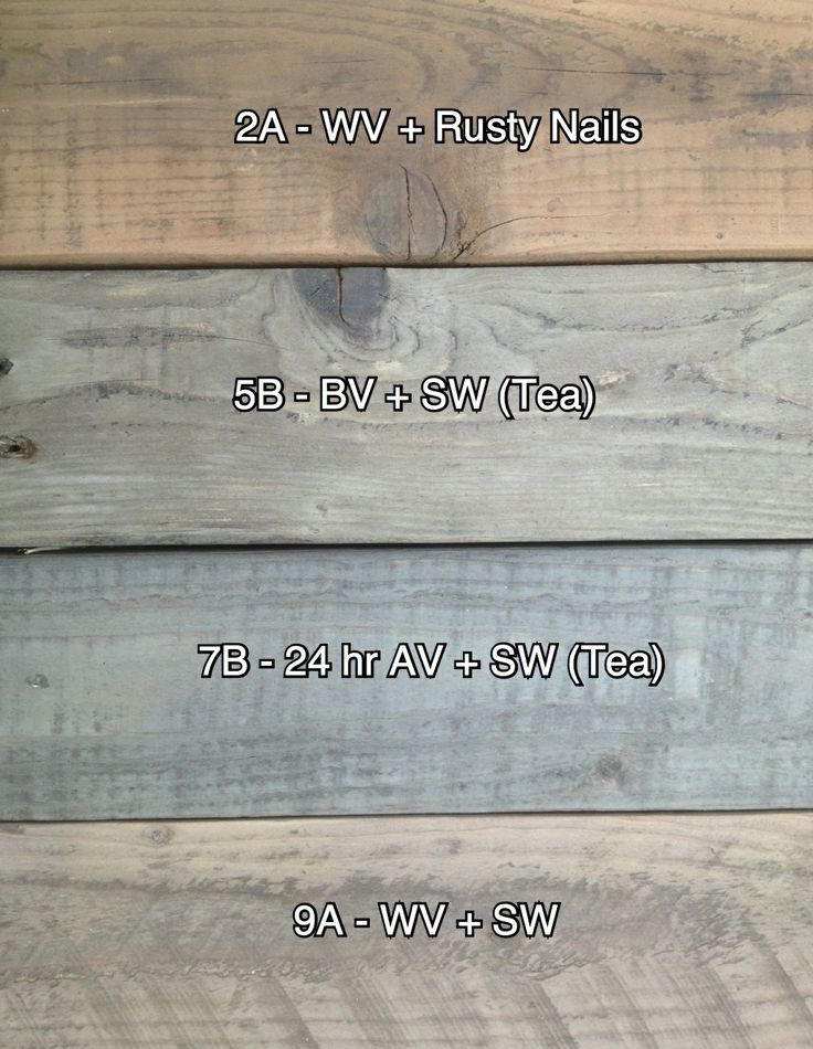 Unfinished Vinegar Stains On Pallet Wood Fence Ideas