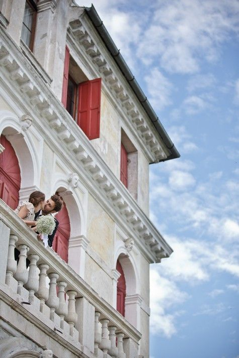 inspirationGrooms Wear, Italy Wedding, Wedding Dreams, Perfect Wedding, Wear Valentino, Wedding In Italy, The Brides, Brides Wear, Balconies Kisses