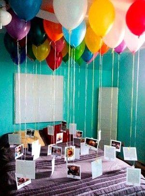palloncini in camera san valentino