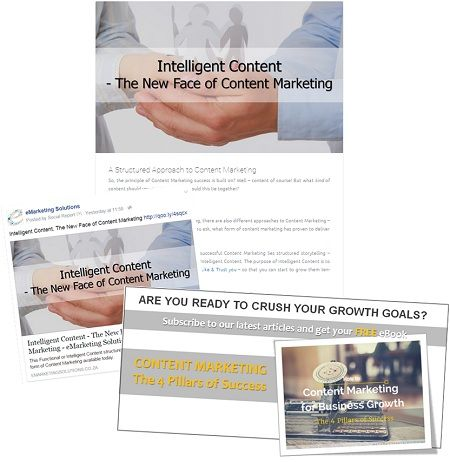 STEP 3/3 with Content Assets for #ContentMarketing Success Recipe