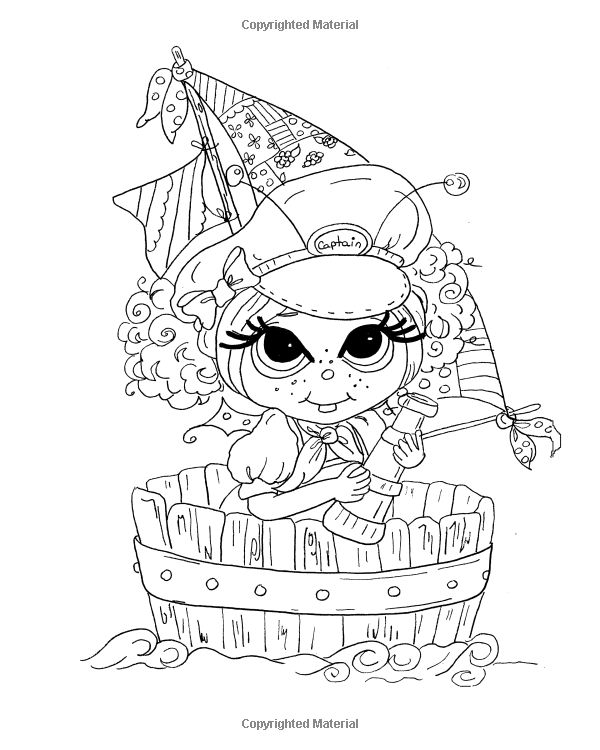 Lacy Sunshine's Enchanted Seas Coloring Book Volume 8: Mermaids, Pirates, and…